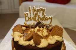 Biscoff Birthday Cake