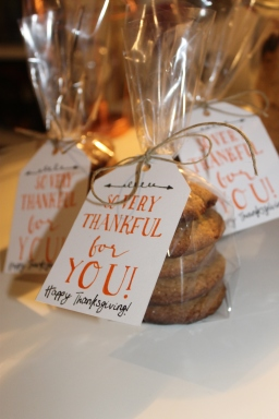 Gingersnap Cookies Thanksgiving Decorations