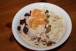 Festive Bircher Muesli Meal Prep – Blogmas Day 3