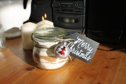 Gingerbread Cookie Mix Gift – Blogmas Day 8